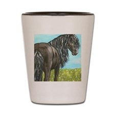 friesianboardcropbright Shot Glass