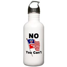 No You Cant Water Bottle