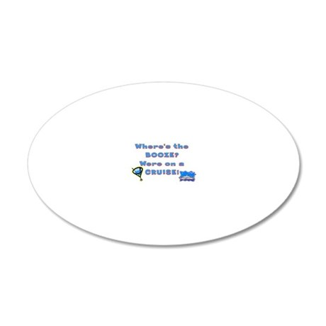 cruise221 20x12 Oval Wall Decal