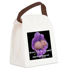 flower21 Canvas Lunch Bag