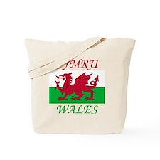 Wales-Cymru Tote Bag