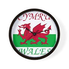 Wales-Cymru Wall Clock