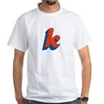 Candice 3D k White T-Shirt