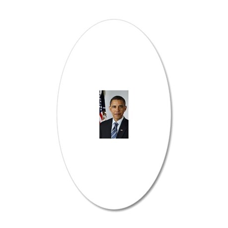 cp politics401 20x12 Oval Wall Decal
