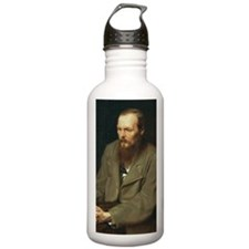 journal-dostoyevsky Water Bottle