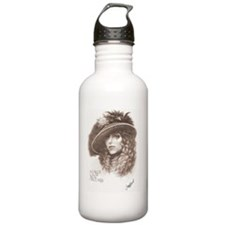 Mardi_Gras_Lady_email  Water Bottle