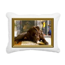 Labrador Retriever Rectangular Canvas Pillow