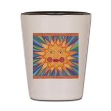 El Sol Shot Glass