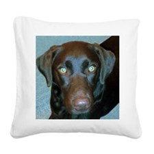 Labrador Retriever Square Canvas Pillow