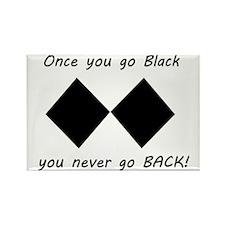 Backup_of_once you go black Rectangle Magnet