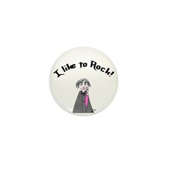 I like to rock Mini Button (100 pack)