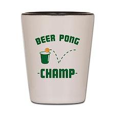 Beer Pong Champ Shot Glass