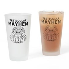 GTBmayhem Drinking Glass