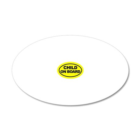 oval 20x12 Oval Wall Decal
