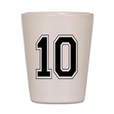 SPORTS NUMBER Shot Glass