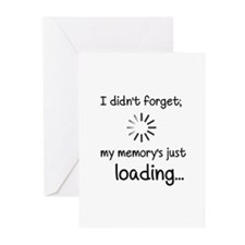 Memory Loading Greeting Cards