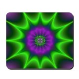 Groovy Fractal Art Mousepad