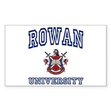 ROWAN University Rectangle Decal