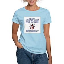 ROWAN University Women's Pink T-Shirt