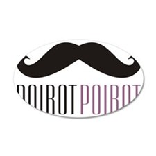 PoirotMugSM Wall Decal