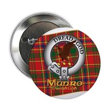 "Munro Clan 2.25"" Button"