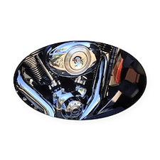harleymotor Oval Car Magnet