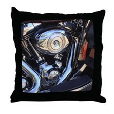 harleymotor Throw Pillow