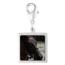 Rosie Silver Square Charm