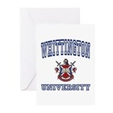 WHITTINGTON University Greeting Cards (Package of