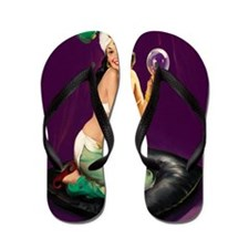 magic jeannie11x17 Flip Flops