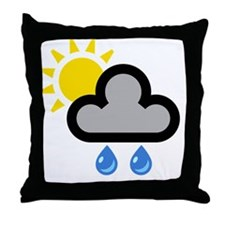 showers001-brighterRain Throw Pillow