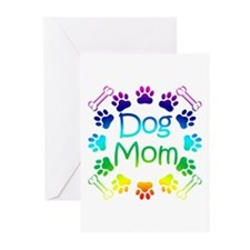 """Dog Mom"" Greeting Cards (Pk of 10)"