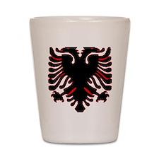 albania-flag.gif Shot Glass