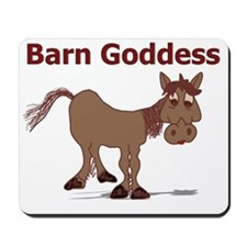 Barn Goddess Mousepad