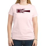Rising Sun Women's Pink T-Shirt