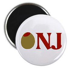 """Olive (I Love) NJ 2.25"""" Magnet (100 pack)"""