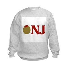 Olive (I Love) NJ Sweatshirt