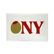 Olive (I Love) NY Rectangle Magnet (10 pack)