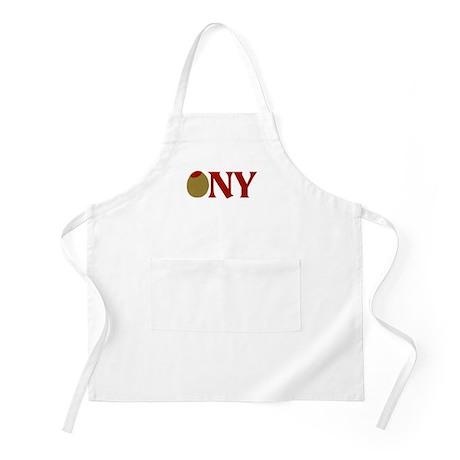 Olive (I Love) NY BBQ Apron