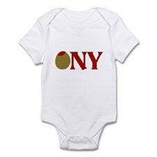 Olive (I Love) NY Infant Bodysuit