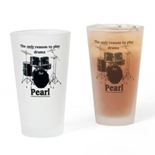 Pearl-design-1 Drinking Glass