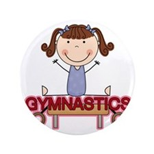 "GYMNASTICSONE 3.5"" Button"