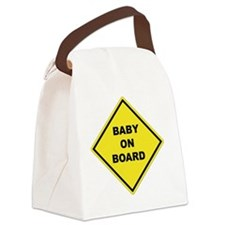 BABYONBOARD Canvas Lunch Bag