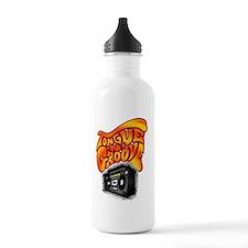 tng boom box t shirt Water Bottle