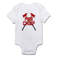 Fire Axes Firefighter Infant Bodysuit