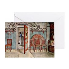 Carl Larsson painting: Old Anna Greeting Card