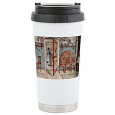 Carl Larsson painting: Old Anna Ceramic Travel Mug