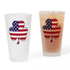 American shamrock Drinking Glass
