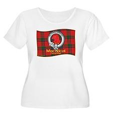 MacNicol Clan Plus Size T-Shirt