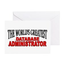 """""""The World's Greatest Database Administrator"""" Gree"""